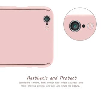 360 Degree Full Body Defender Case for Oppo F3 Plus with FreeTempered Glass (Rose Gold) - 5