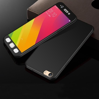 360 Degree Full Body Protective Case Hard Matte Frosted Plastic Cover for VIVO Y55 / Y55s - intl