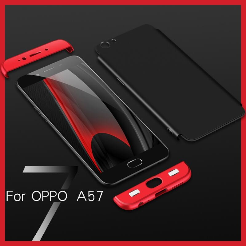 ... 360 Degree Full Protect Hard PC Cases For OPPO A57 / A39 5.2 ...