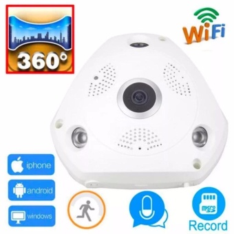 360 Degree Panorama CCTV Camera Wifi 960p HD Wireless VR IP Camera Remote Control Surveillance Camera P2P Indoor Cam