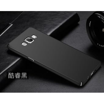 360 Degree Protective Case Ultra Thin PC Hard Case for Samsung Galaxy A7000/A7 2015(Black) - intl