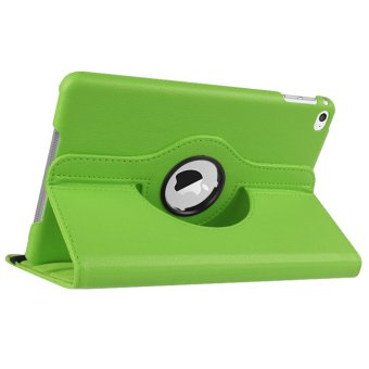 360-degree Rotation PU Leather Case for Apple iPad 2/3/4 (Green)