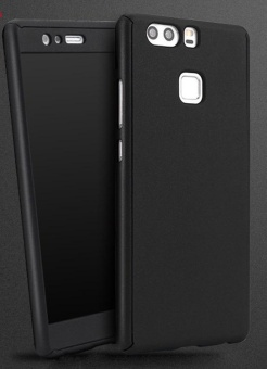 360 Full Protection Case For Huawei P9 (Black)