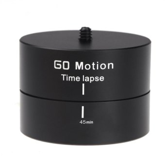 360 Panoramic Rotating Time Lapse Stabilizer Tripod Adapter forGopro DSLR C