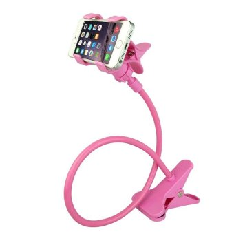 360 Rotating Flexible LazyPod Universal Mobile Phone Holder ( BabyPink)