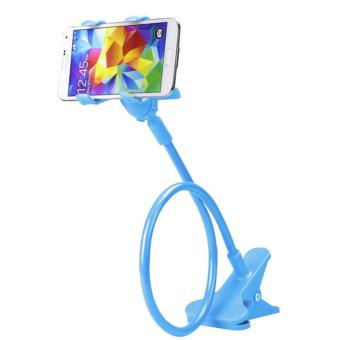 360 Rotating Flexible LazyPod Universal Mobile Phone Holder (Blue)