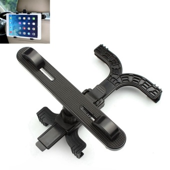 360' Rotation Car Seat Headrest Holder Mount for IPAD 1 / 2 / 3 / 4Most 7~13 Inch Tablet PC - intl