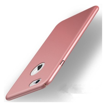 360 ultra-thin matte PC hard Cover Case For iPhone 6 Plus(6s Plus(Rose gold) - intl