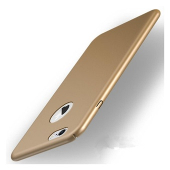 360 ultra-thin matte PC hard Cover Case For iPhone 6 Plus(6s Plus(Royal gold) - intl