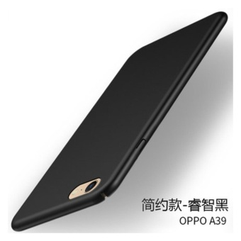360 ultra-thin matte PC hard Cover Case For OPPO A39(A57(Black) -intl