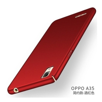 360 ultra-thin matte PC hard Cover Case For OPPO F1(A35(Red) - intl