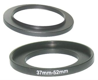 37mm-52mm 37-52 mm 37 to 52 Step Up Ring Filter Adapter - intl