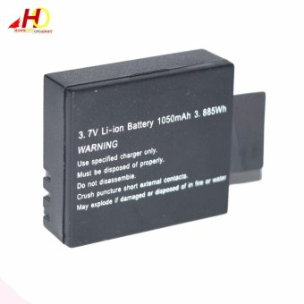 3.7V Li-ion Battery Rechargeable 1050mAh 3.885Wh for 4k ActionCamera