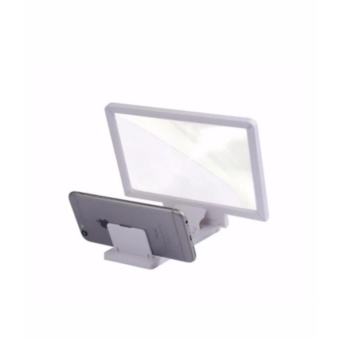 3D Enlarged Screen Magnifier For Mobile Phone /Tablet (White) Price Philippines
