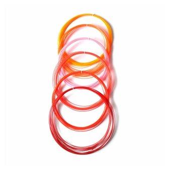 3D Pen Filament Refills 1.75mm PLA Plastic 328 Linear 20 Different Colors - intl - 3