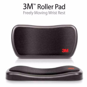 3M Roller Pad freely Moving Wrist Rest for Mouse Mice - intl