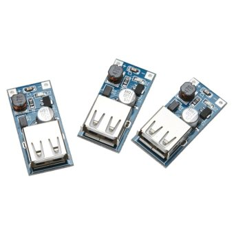 3pc DC Step-up Boost Module USB Power Boost Circuit Board 0.9V 5Vto 5V 60 - intl - 3