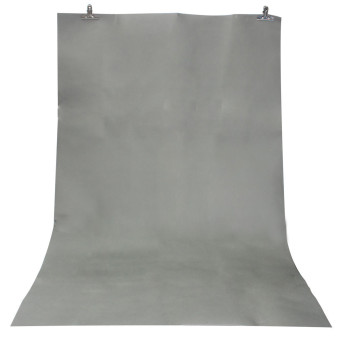 3x5ft Grey Thin Vinyl Photography Backdrop Background Studio Photo Props 1x1.5M