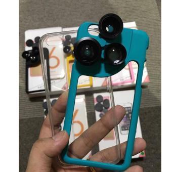 4 in 1 Rotating Camera Lens Case for IPhone 6Plus/6SPlus/6/6s - 4