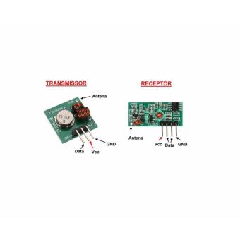 433Mhz RF Transmitter and Receiver Module - 2 Pieces - 2