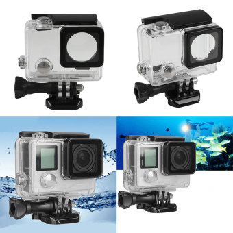 45M Waterproof Housing Underwater Protective Case For GoPro Hero 3+ 4 Accs
