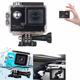 4K HD 1080P 16MP Helmet Sport Action Waterproof Camera DV Cam forGopro(Black)