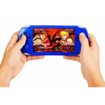 5.1-Inch 8G PSP Game Player 10000 Free Games Handheld GBA Consoles = MP3/MP4/MP5/FM/Camera (Red) - intl - 3