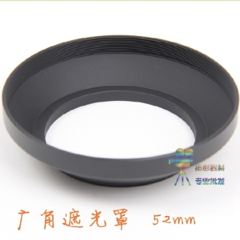 52mm metal Wide Angle screw Hood