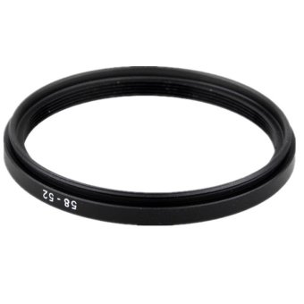58 to 52mm Step down Filter Ring Adapter