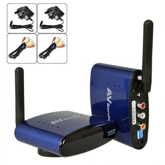 5.8GHZ 200M Wireless Audio and Video Transmitter and Receiver Suite(PAT-630) British Regulation Power Supply - intl - 2