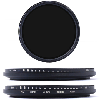 58mm Variable ND Filter Neutral Density Adjustable for Canon NikonPentax LF304-SZ (Black) Price Philippines