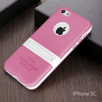 5C silicone iPhone thin support phone case
