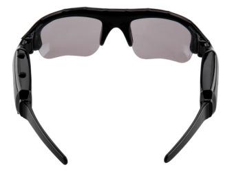 5MP Sunglasses Eyewear Camcorder (Black) - 2
