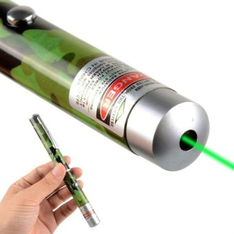 5mW 532nm Green Beam Laser Pointer Pen Light Military-Grade - intl