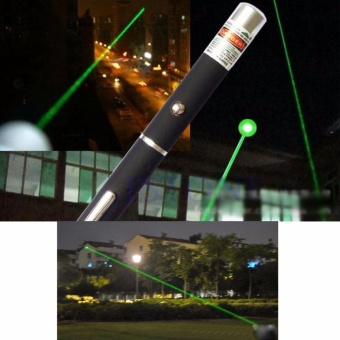 5mW Lazer 650nm Red Purple Green Laser Pointer Pen Visible Beam Light - intl