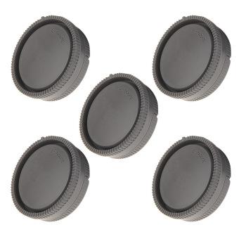 5PCS Rear Lens Cap + Camera Cover For Sony NEX-7