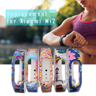 5pcs Replacement Wrist Strap Band for Xiaomi 2 Mi Millet Smart Bracelet TH475 - Intl