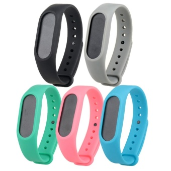 5PCS Replacement Wristband Strap Bands for Xiaomi Mi Band 2/Miband2 band Smart Bracelet Accessories - intl