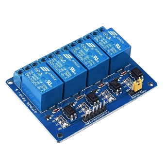 5V 4 Channel Relay Module Shield for Arduino ARM PIC AVR DSPElectronic 10A - intl
