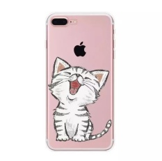 3d Cute Lucky Cat Smiling Fortune Cat Soft Silicon Back Cover Case ... -