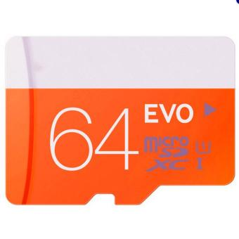 64GB Class 10 Micro memory SD card with Adaptor - intl Price Philippines