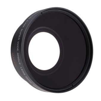 67mm Digital High Definition 0.43A--SuPer Wide Angle Lens With Macro Japan Optics for Canon Rebel T5i T4i T3i 18-135mm 17-85mm and Nikon 18-105 70-300VR - Intl - 5