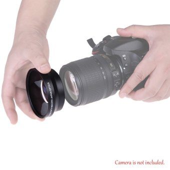 67mm Digital High Definition 0.43A--SuPer Wide Angle Lens With Macro Japan Optics for Canon Rebel T5i T4i T3i 18-135mm 17-85mm and Nikon 18-105 70-300VR - Intl - 4