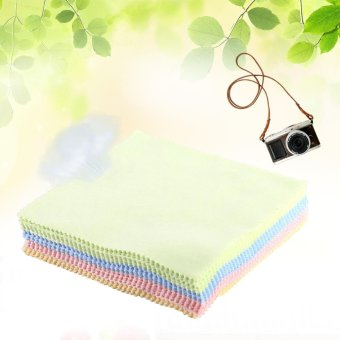 70Pcs Square Microfiber Phone LCD Screen Camera Lens Glasses DustCleaner Cleaning Cloth Hot - intl