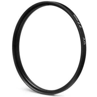 77mm UV Camera Protection Filter Lens for Canon Nikon Sony (Black) - intl