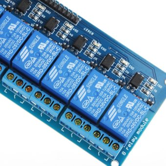 8 Channel 5V Relay Shield Module Board Optocoupler module for Arduino PIC AVR MCU DSP ARM - intl - 5