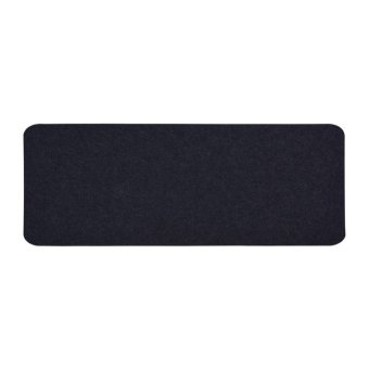 80x30cm Felts Table Mouse Pad Office Desk Computer PC Pads DarkGray 1 layer - intl