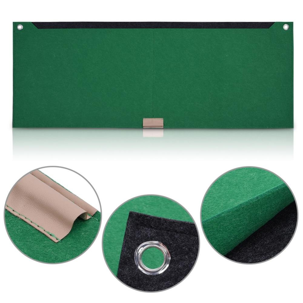 80x30cm Felts Table Mouse Pad Office Desk Computer PC Pads Green 1layer - intl ...