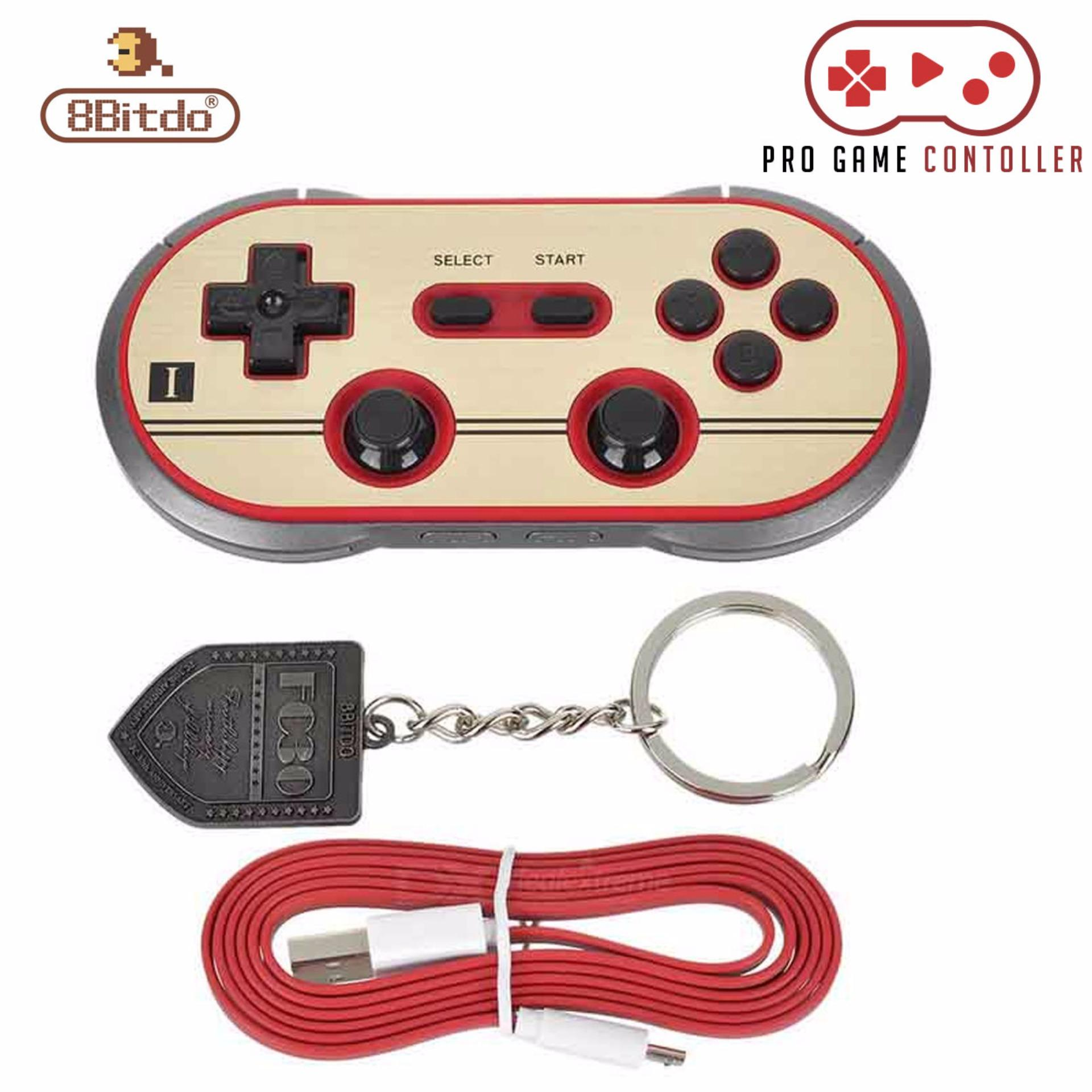 Philippines 8bitdo Fc30 Pro Wireless Bluetooth Gamepad Game Nes30 Retro Controller For Switch Ios Android Pc Mac Linux
