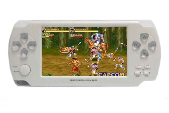 8GB 4.3-Inch TFT Screen Mp4 MP5 Player Game Player Supports PspGame Camera Video E-book Music (White)